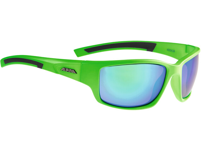 Alpina Keekor Lunettes, neon green-black